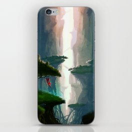 Valley of light iPhone Skin