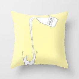 human Throw Pillow