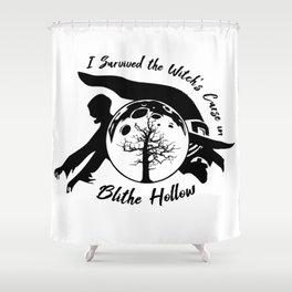 Paranorman Blithe Hollow Design Shower Curtain