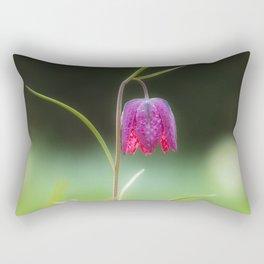 Fritillaria meleagris (Snake's Head) Rectangular Pillow