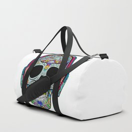 Skull with ornaments Duffle Bag