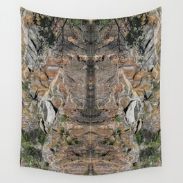 Granite Quarry Refection Abstract #2 Wall Tapestry