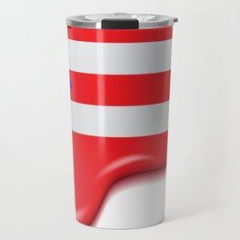 Drip Puerto Rican Flag Travel Mug