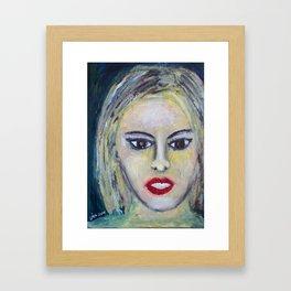 MISS JAMESON Framed Art Print