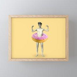 Donut Framed Mini Art Print