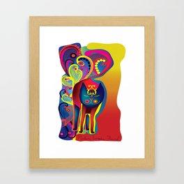 Madam Evangelina Flourish Framed Art Print