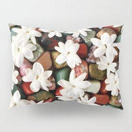 Jasmine on the Rocks Pillow Sham