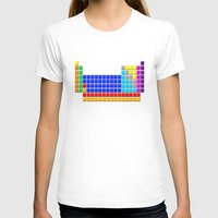 periodic table T-shirts featuring PERIODIC TABLE OF ELEMENTS by darlthedreamer
