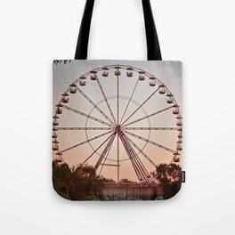 Dusk at the Fair Tote Bag