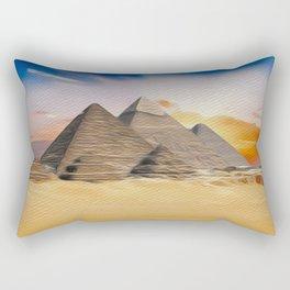 Great Pyramid of Giza, Egypt Rectangular Pillow