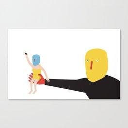 Show me Canvas Print