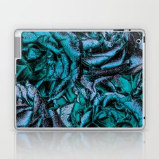 Great Garden Roses with silver dust,turquoise Laptop & iPad Skin