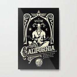 Hotel California Metal Print