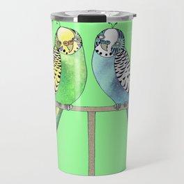 budgerigars Travel Mug