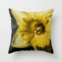 Pollenated Throw Pillow