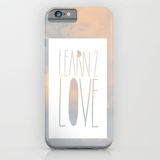 LEARN 2 LOVE iPhone & iPod Case