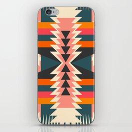 Colorful ethnic decoration iPhone Skin