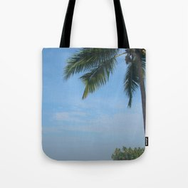 Palm Trees on the Cliff Varkala Tote Bag