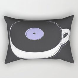 Vinyl Coffee Rectangular Pillow