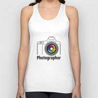 community Tank Tops featuring Photographer Community by Jatmika jati