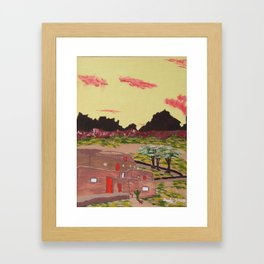 New Mexico Adobe Home Framed Art Print