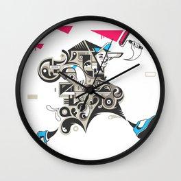 Careless vandal Wall Clock
