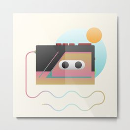 Summer Rhythm Metal Print