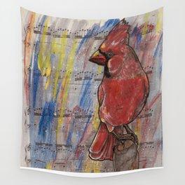 Northern Cardinal Wall Tapestry