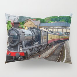 Steam Locomotive Wales Pillow Sham