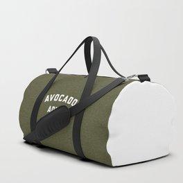 Avocado Addict Funny Quote Duffle Bag