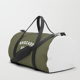 Avocado Addict Funny Quote Duffle Bag
