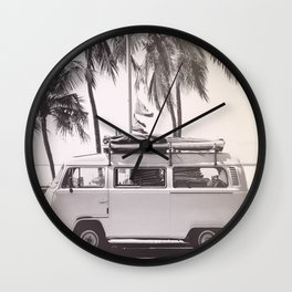 Boho Camper Wall Clock