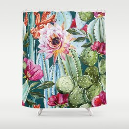Suculents Shower Curtain
