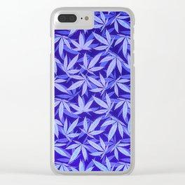 Purple Haze - Cannabis / Hemp / 420 / Marijuana  - Pattern Clear iPhone Case