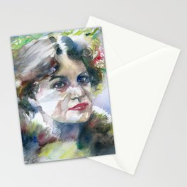 LOU ANDREAS SALOME watercolor portrait .2 Stationery Cards