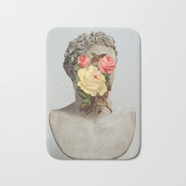 Bust With Flowers Bath Mat