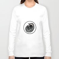 badger Long Sleeve T-shirts featuring Badger by Natalie Toms Illustration