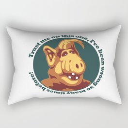 Alf guru  Rectangular Pillow