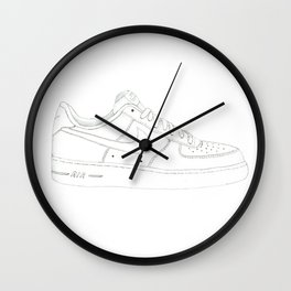 Nike Air Force 1 Low Wall Clock