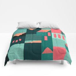 Teal Klee houses Comforters