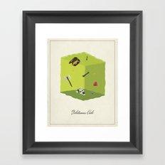 Gelatinous Cube Framed Art Print