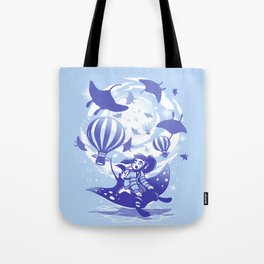 Flying Dream Tote Bag