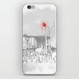 People in the streets iPhone Skin