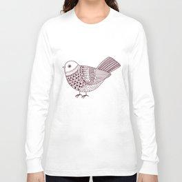 Retro Pigeon Long Sleeve T-shirt