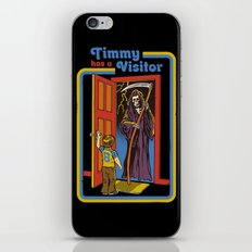 TIMMY HAS A VISITOR iPhone Skin