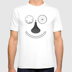 Happy Rider Mens Fitted Tee White MEDIUM