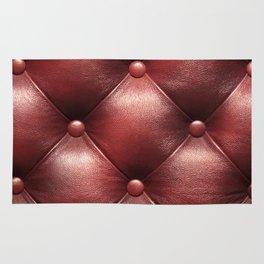 Leather diamonds Rug