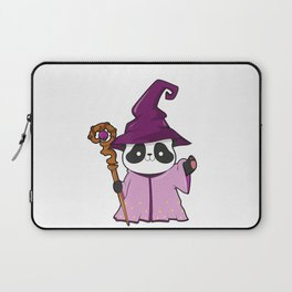 Dungeons and Pandas RPG D20 Panda Bear Wizard Gamers Gift T-Shirt Laptop Sleeve