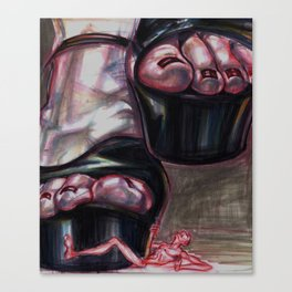 Stomp Stomp Canvas Print