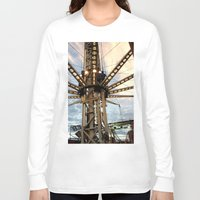 the lights Long Sleeve T-shirts featuring lights by reallydorky